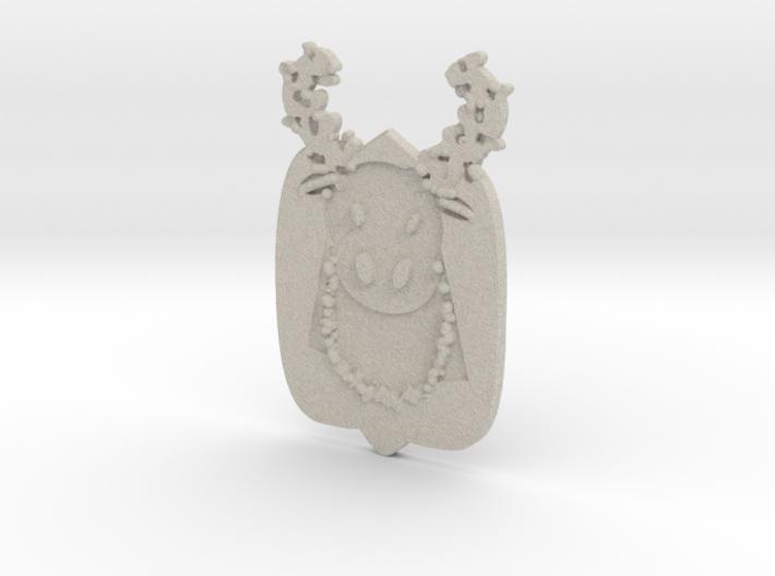 Merry Krismoose 3d printed