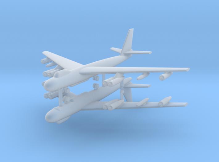 1/600 B-47E Stratojet (x2) 3d printed