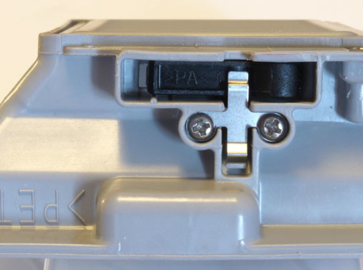 Panasonic SD257 breadmaker dispenser latch 3d printed