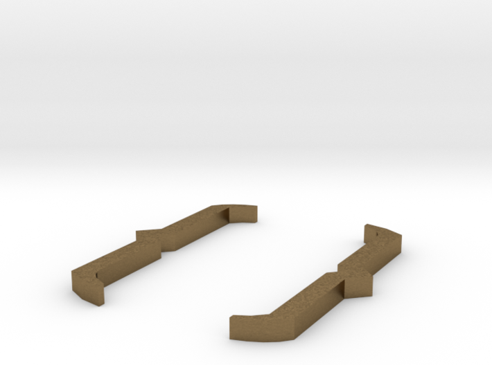 Curly Brackets - { } 3d printed