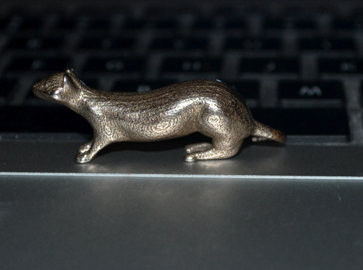The Weasel Desk Toy 3d printed