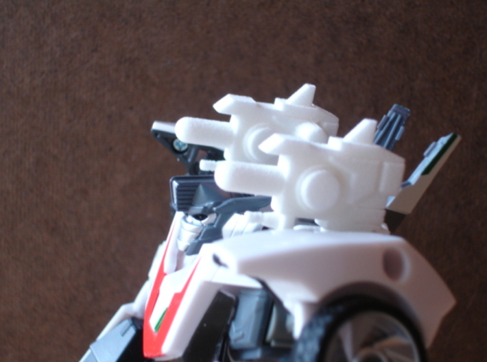Sunlink - Prime: Wheeljacked Cannons x2 3d printed