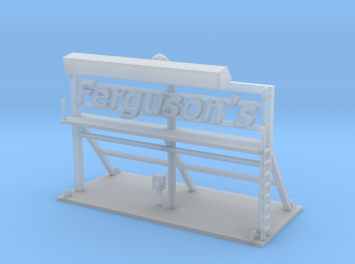 Ferguson Sign 3d printed