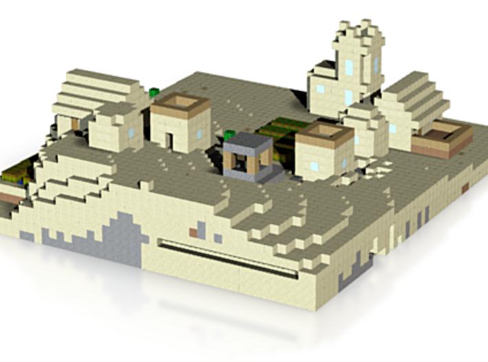 Casas na areia 3d printed
