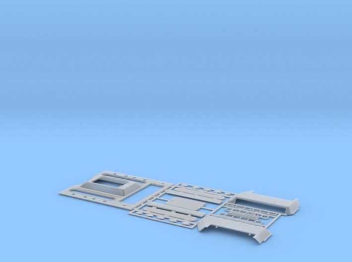 1:35 T-34 Engine Deck STZ 3d printed