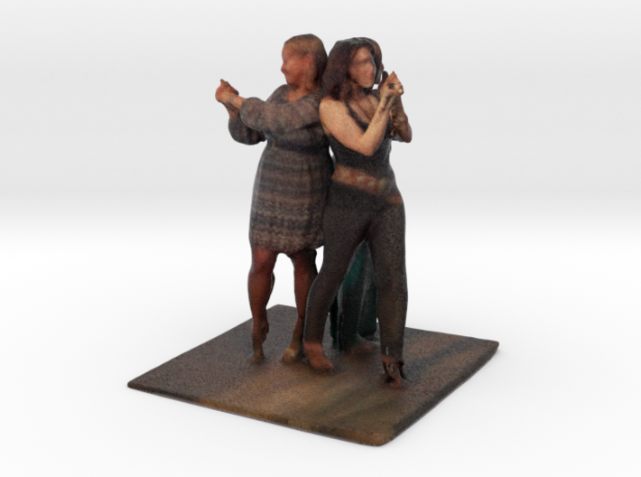 Charlie's Angels (Lisa, Amber, Ania) - Denver Star 3d printed