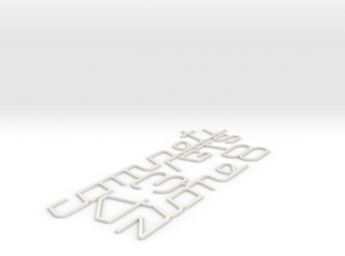 348 GTS COMPETIZIONE INSERTS 3d printed