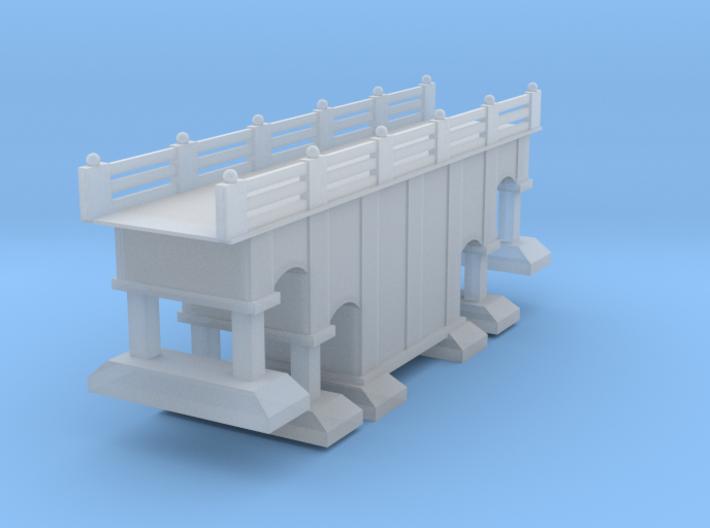 Bridge City Road Or Railroad Z Scale 3d printed