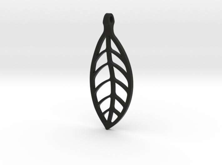 LEAF Necklace SMALL 3d printed
