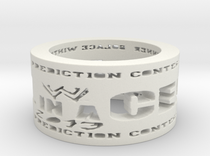 HIAC Prediction Winner Ring Ring Size 8.5 3d printed
