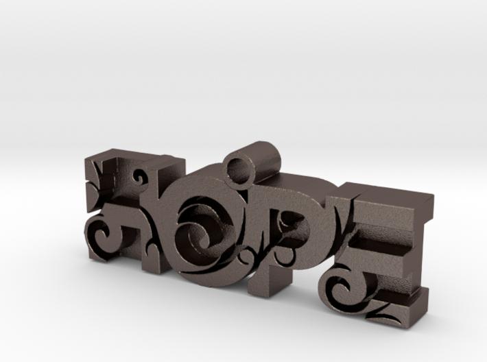 """""""HOPE"""" Pendant 3d printed"""