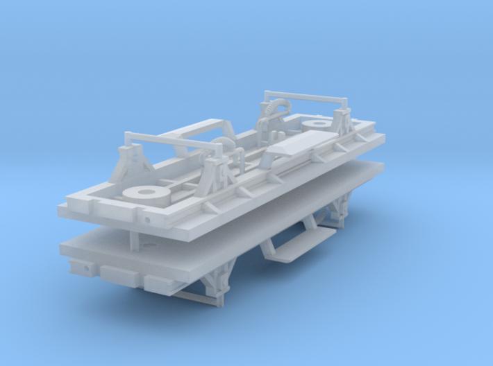 ZB (H0e) - 2ax-Fahrwerke für Liliput Gw - o.Bremse 3d printed