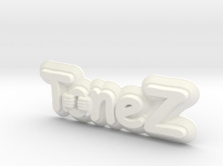 ToneZ Plate - Comic Sans Edition 3d printed