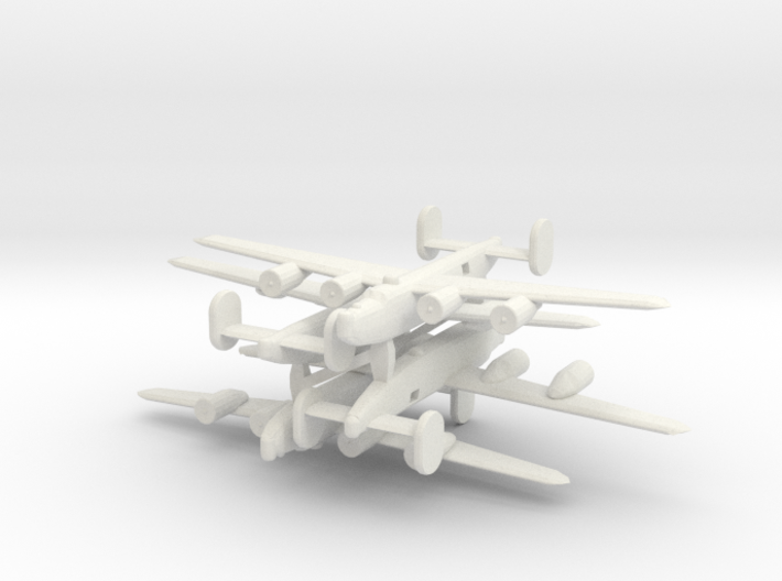 1/700 Consolidated B-24 Liberator 3d printed
