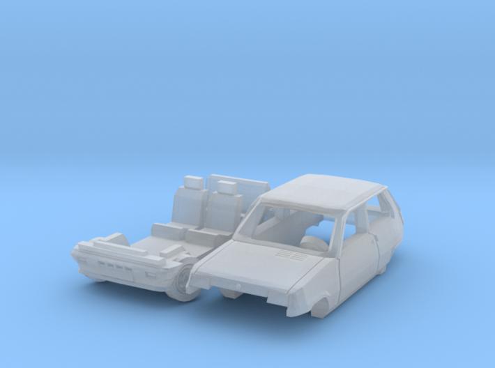 Renault 5 TS - Parked (N 1:160) 3d printed
