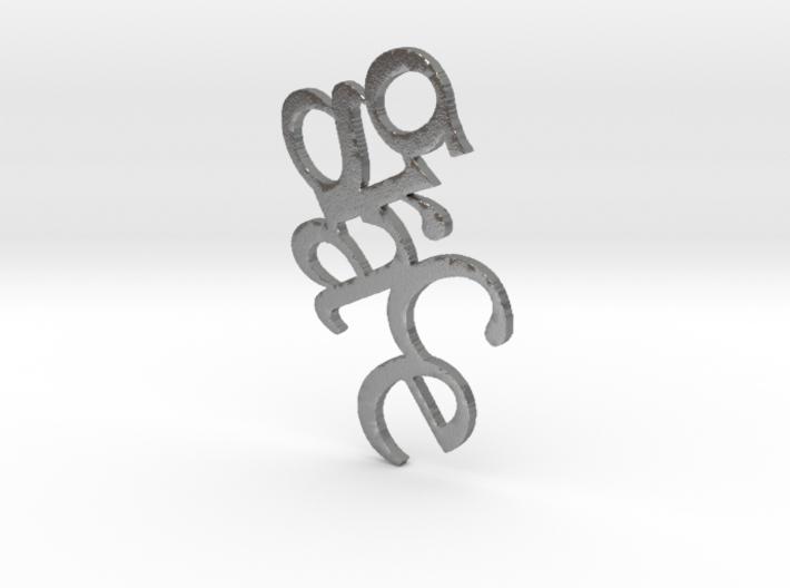 GRACE Pendant 3d printed