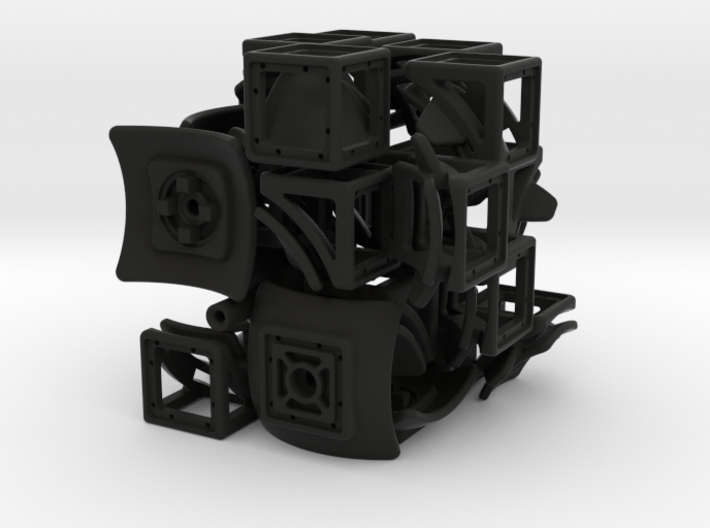 Multi-Gear Cube Kit 3d printed