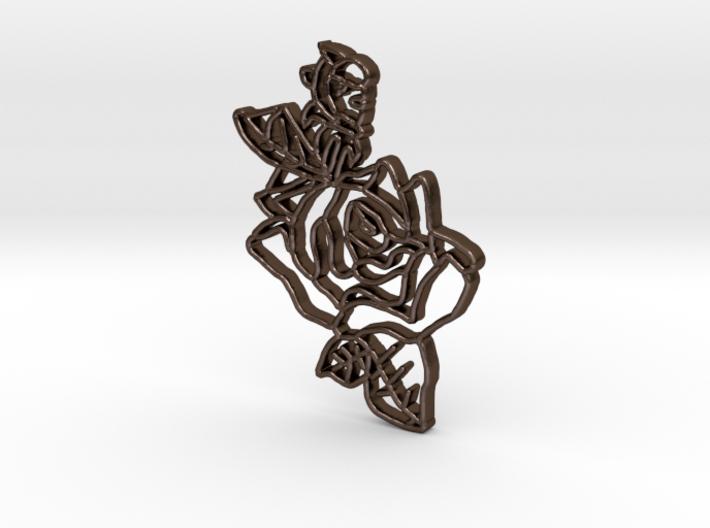 Fairy Blossom Pendant 3d printed