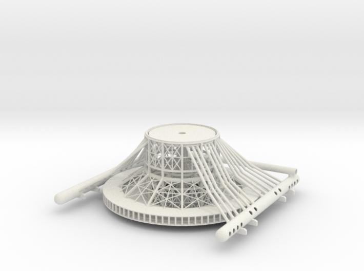 Tower Base V0.5a 3d printed