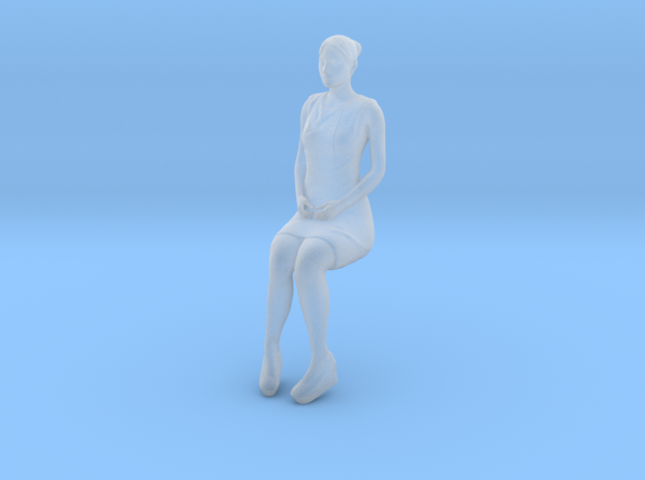 Woman Sitting 16th 3d printed