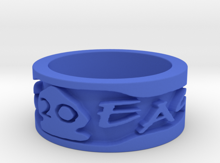 20 Year Anniversary War Eagle Ring (Size 6.5) 3d printed