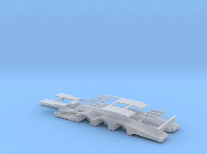 Truck Transporter Trailer 3d printed