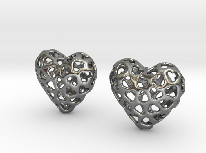 Small hearts, Big love (from $17.50) 3d printed