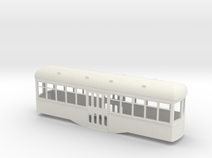 Gn15 center entrance trolley car 3d printed