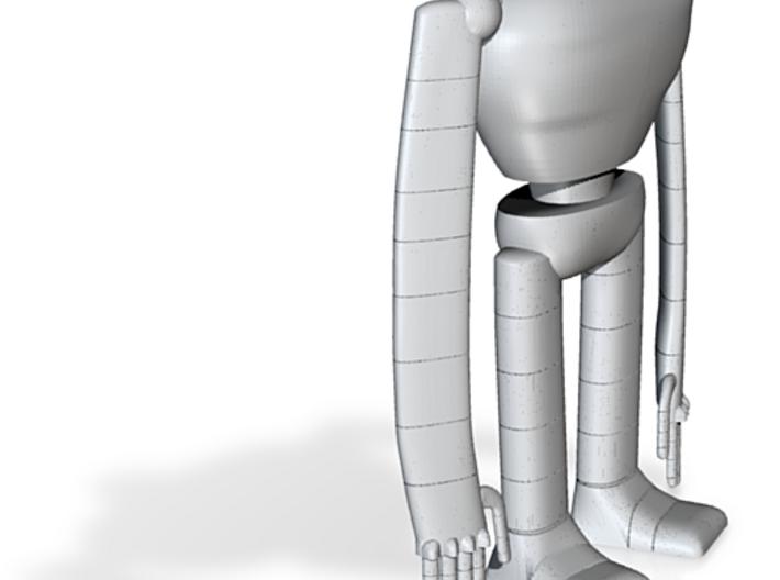Laputa robot hollow out 0.03 3d printed