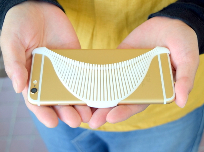 MANTA - 3d printed iphone 6 case - 3d printed