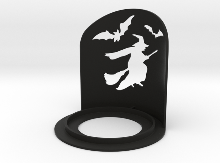 Halloween Witch Tea Candle Holder 3d printed