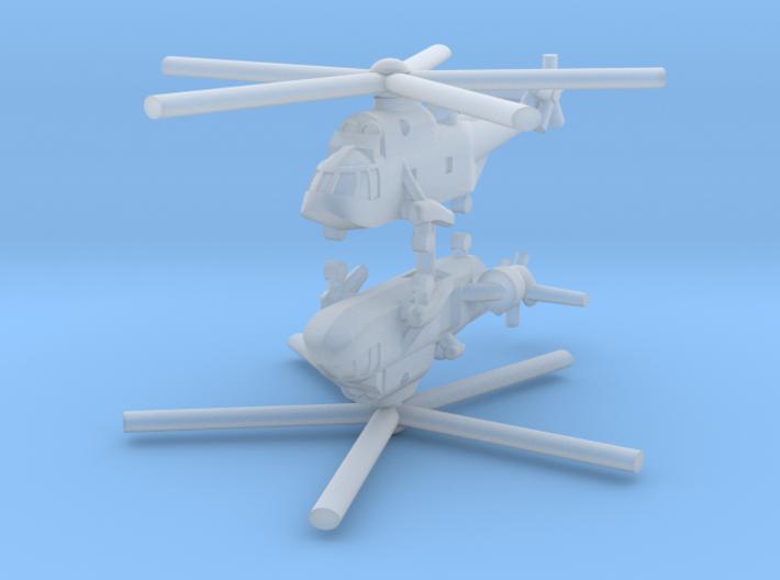 1/700 Westland Sea King AEW.2 (x2) 3d printed