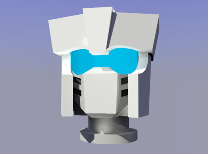 Gen. Tailgate (IDW Version) Head 3d printed