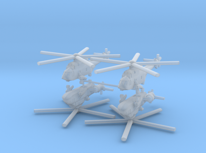 1/400 Westland Sea King AEW.2 (x4) 3d printed