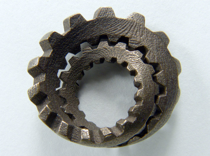 Unofoil with Cogs 3d printed