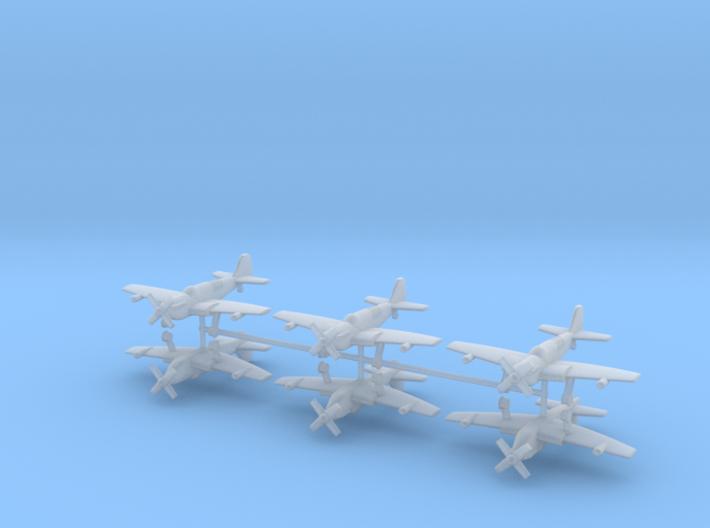 1/400 Fairey Firefly (x6) 3d printed