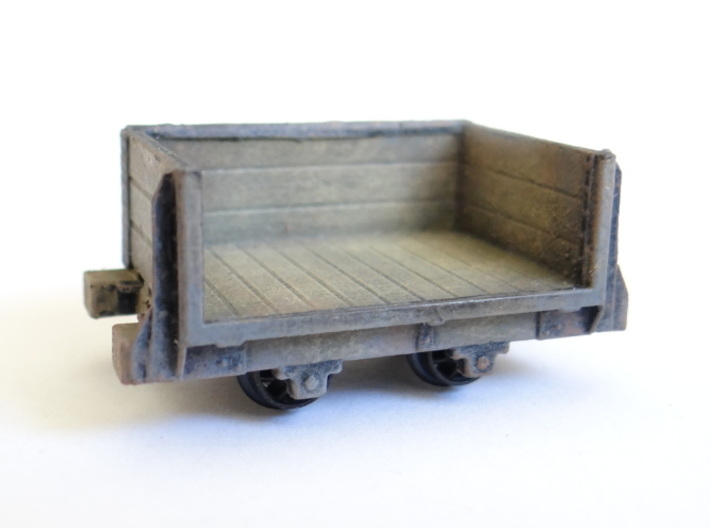 Trevor Quarry Breaker Wagon 3d printed A Detailed and Painted Wagon