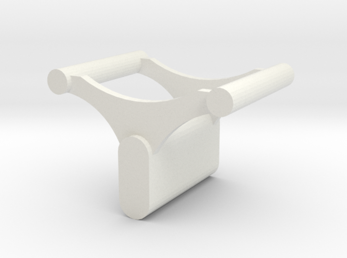 Small Roller Coaster paperweight (X-car style) 3d printed
