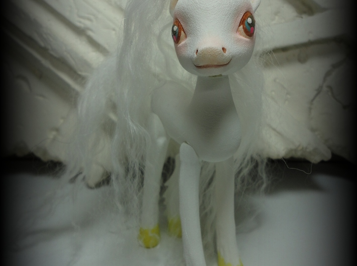 Canter Colts Couture Unicorn 3d printed front view