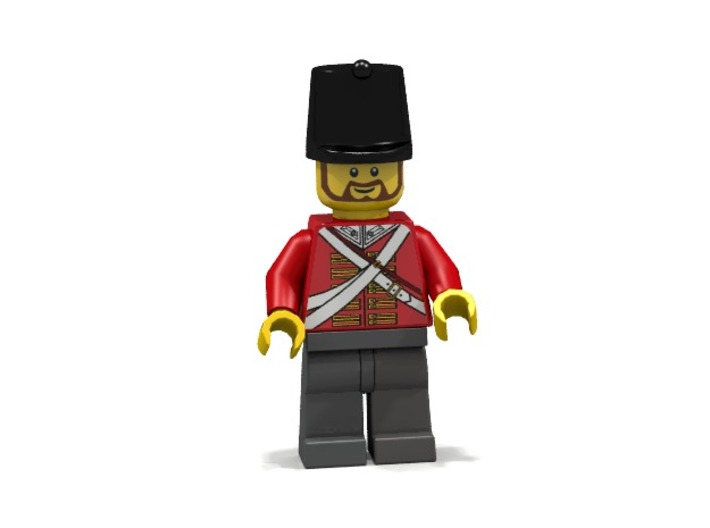 British Shako 3d printed Render of example usage