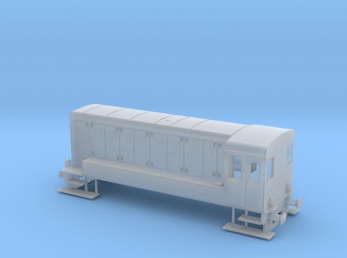 Reeks 84 - Type 250-1 NMBS / SNCB HO 1/87 3d printed
