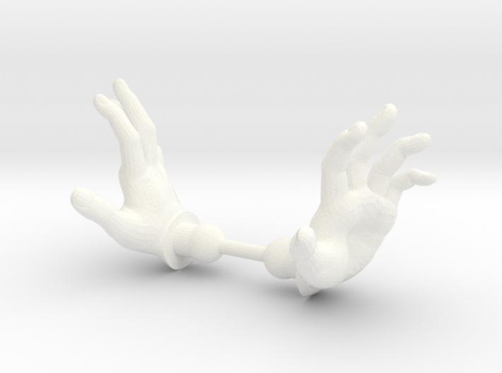 Warrior Hands Spell 3d printed