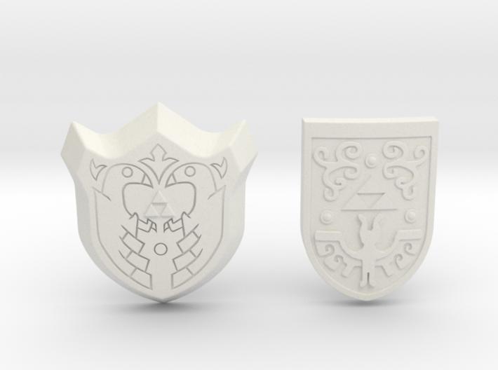Toon Shield Pack 3d printed