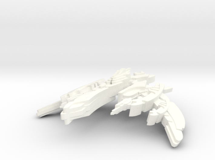 Breen Attack Ship 2 3d printed