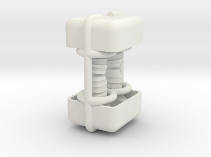 Leica / Wild GST20 1/4 scale tripod clamp Screws 3d printed