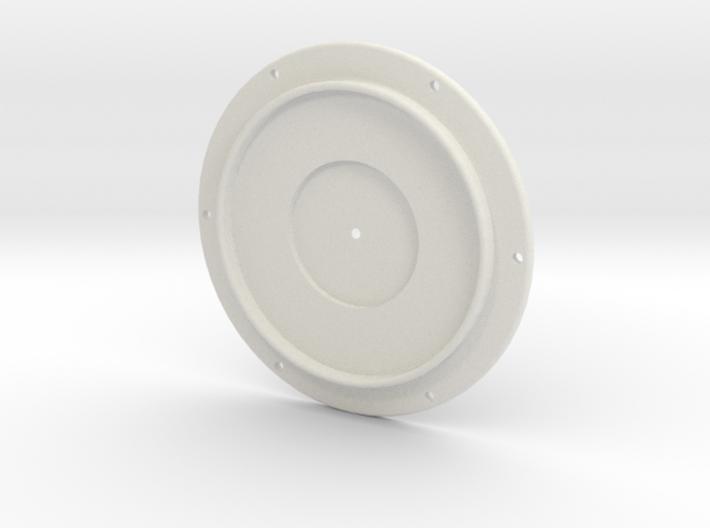 Sopwith Altimeter Bezel 3d printed