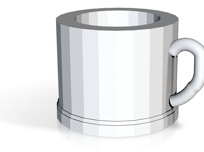 Classic Coffee Mug Mini 3d printed