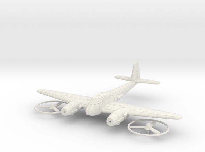 1/144 Messerschmitt Me-410 (wheels up) 3d printed