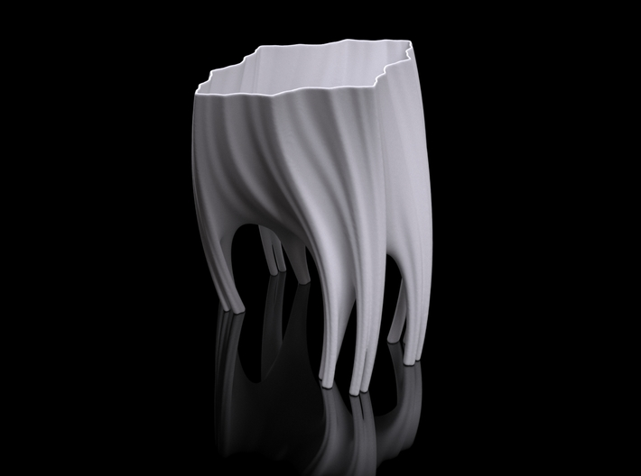 Julia Vase #003 - Roots 3d printed Preview render