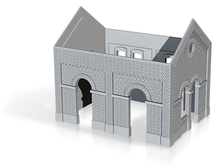 Olloy Annexe Toprint (en construction) 3d printed
